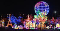 Seasonal Lighting Displays Brighten Parks Across the Country