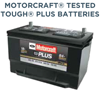 Battery Special Motorcraft Tested Tough PLUS Batteries
