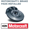 Motorcraft Brake Pads Installed $109.95