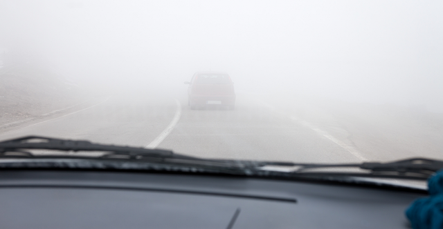 In A Haze When Driving In The Fog? A Dozen Useful Tips