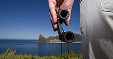 Give binoculars a permanent home in the glove box