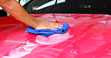 Protect paint finish with winter wax job