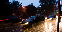 Help teen drivers by reviewing safey tips for the wet weather