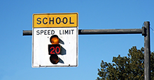 Life-saving tips for traveling through school zones