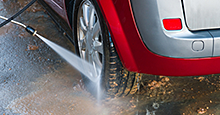 Harsh road grime can damage exterior surfaces